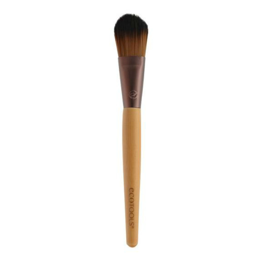 EcoTools Flat Foundation Brush | Blue Scandal