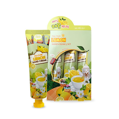 Tea Time Lemon Hand Cream (3-Pack)