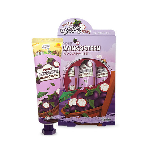 Violet Mangosteen Hand Cream (3-Pack)