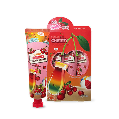 Sunset Cherry Hand Cream (3-Pack)