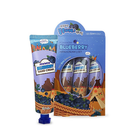 Powwow Blueberry Hand Cream (3-Pack)