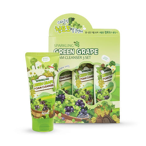 Sparkling Green Grape Foam Cleanser (3-Pack)