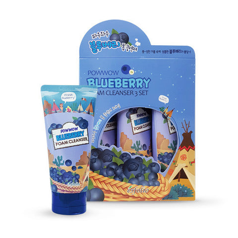 Powwow Blueberry Foam Cleanser (3-Pack)