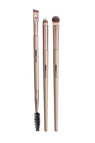 Urban Studio Lavish Collection Eye Brush Trio (100% Vegan Bristles)