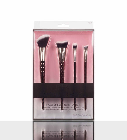 URBAN STUDIO MIDNIGHT MIST) FACE & EYE ESSENTIAL MAKE-UP BRUSH SET (4 pcs)