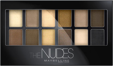 Maybelline The Nudes Eyeshadow Palette | Blue Scandal