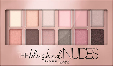 Maybelline The Blushed Nudes Eyeshadow Palette | Blue Scandal