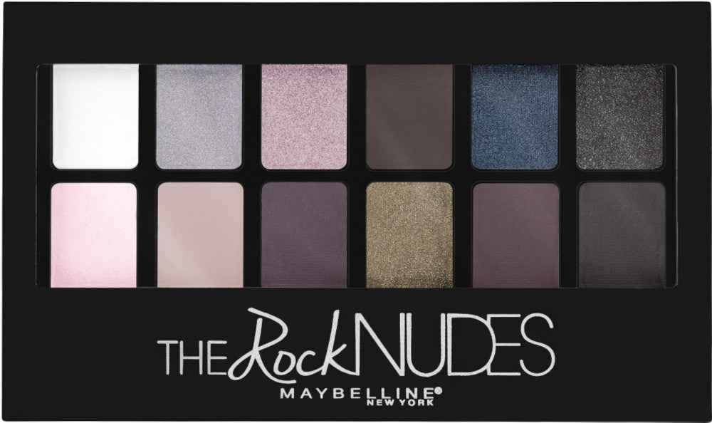 Maybelline The Rock Nudes Eyeshadow Palette | Blue Scandal