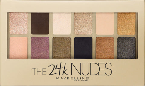 Maybelline The 24K Nudes Eyeshadow Palette | Blue Scandal