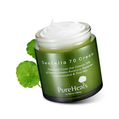 Pure Heals Centella 70 Cream | Blue Scandal