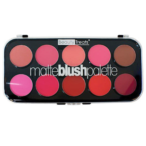 Beauty Treats Matte Blush Palette | Blue Scandal