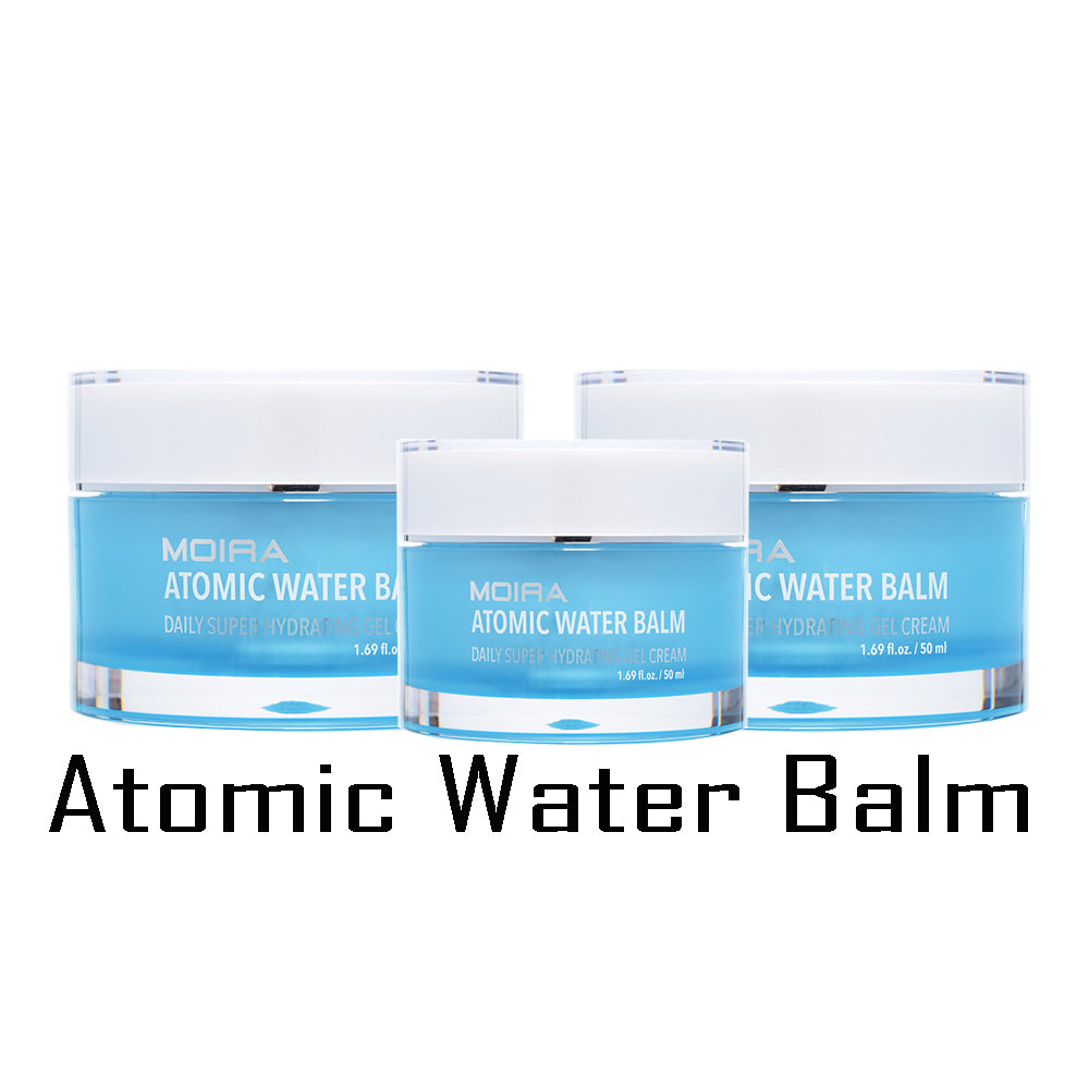 Moira (3 Pack) Atomic Water Balm | Blue Scandal