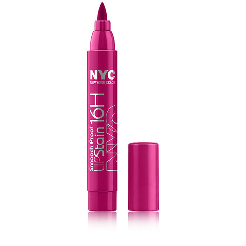 NYC New York Color Smooch Proof 16hr Lip Stain | Blue Scandal