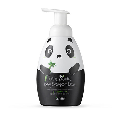 Esfolio Lovely Panda Baby Shampoo & Wash | Blue Scandal