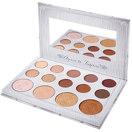 BH Cosmetics Carli Bybel 14 Color Eyeshadow & Highlighter Palette | Blue Scandal