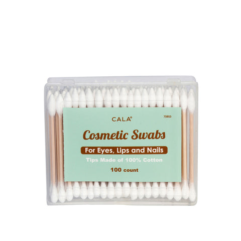 Cala Cosmetic Swabs (100 Count): Square | Blue Scandal