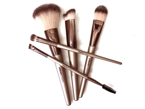 URBAN STUDIO FACE and EYE BRUSH 5 PCS SET 76186