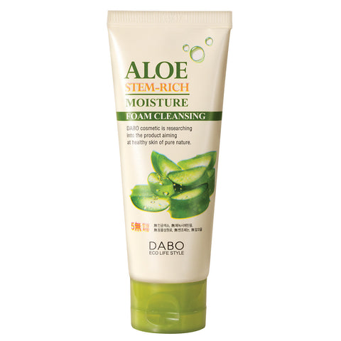 Aloe Stem-Rich Moisture Foam Cleanser