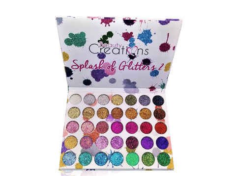 Beauty Creations Cosmetics Splash Of Glitters Palette #2