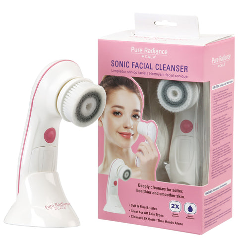 Sonic Facial Cleanser: 2-Speed Control