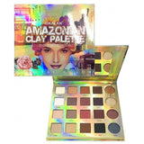 OKALAN Amazon Clay Eyeshadow Palette 20 Natural Eye Shadow Colors
