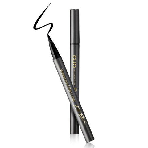 Clio Waterproof Brush Liner Kill Black | Blue Scandal