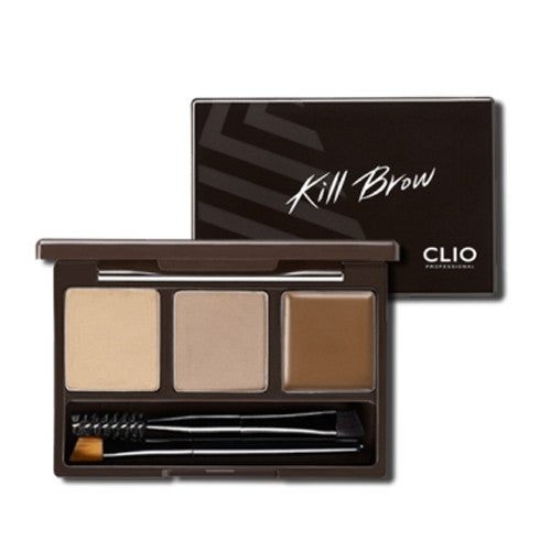Clio Kill Brow Conte Power Kit | Blue Scandal