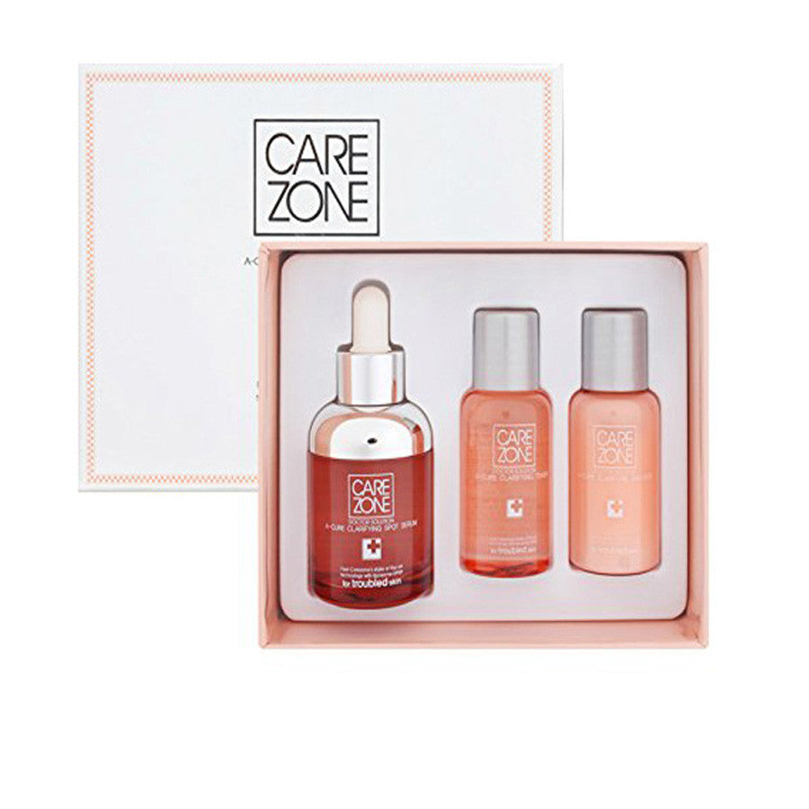 Isa Knox Care Zone A-Cure Clarifying Spot Serum Special 3-Piece Set | Blue Scandal