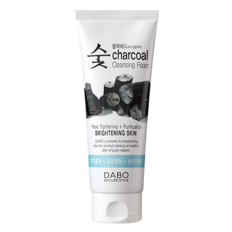 Dabo Charcoal Cleansing Foam: Brightening Skin | Blue Scandal