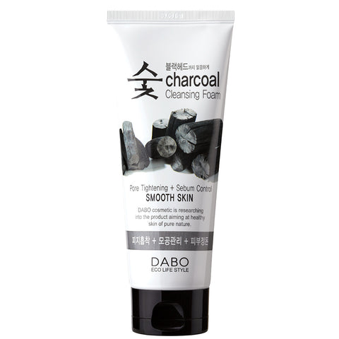 Dabo Charcoal Cleansing Foam: Smooth Skin | Blue Scandal