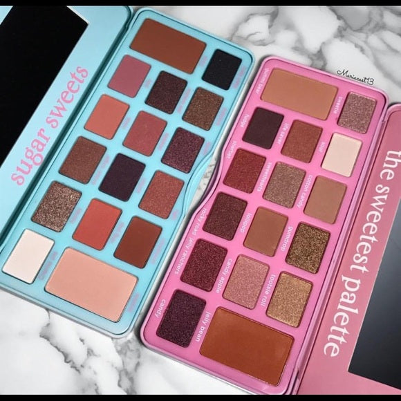 Beauty Creations SWEET EYESHADOW PALETTE DUAL | Blue Scandal