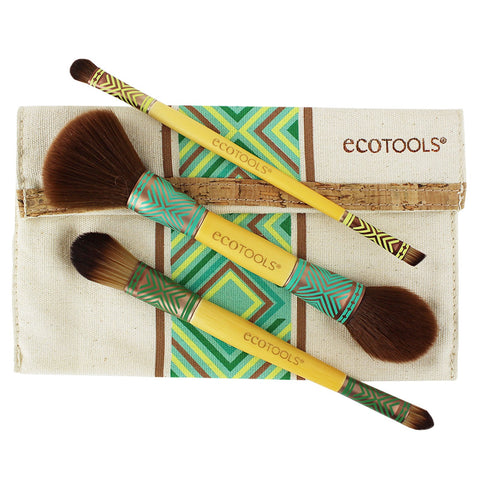 EcoTools Boho Luxe Duo Brush Set | Blue Scandal