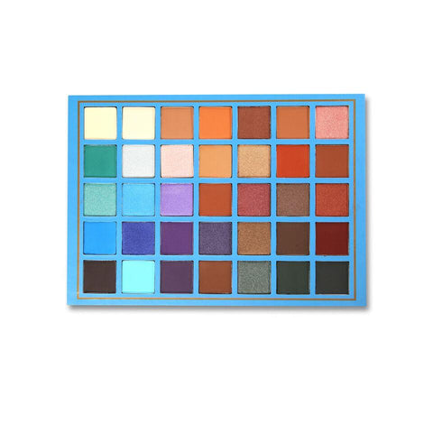 Beauty Creations Elsa 35 Color Elsa Eyeshadow Palette By Beauty Creation | Blue Scandal