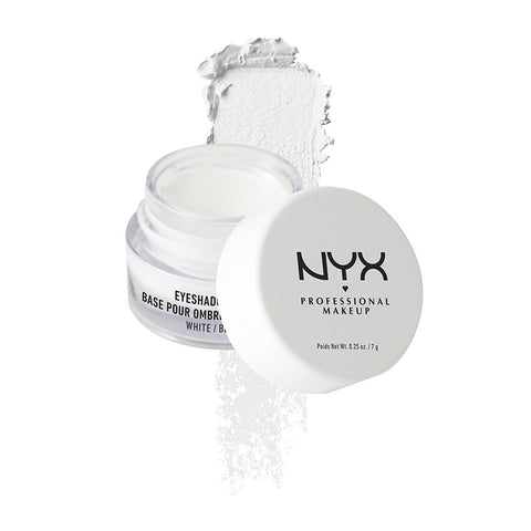 NYX NYX Cosmetics Eyeshadow - Base White ESB01 | Blue Scandal