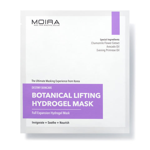 MOIRA Botanical Lifting Hydrogel Mask | Blue Scandal