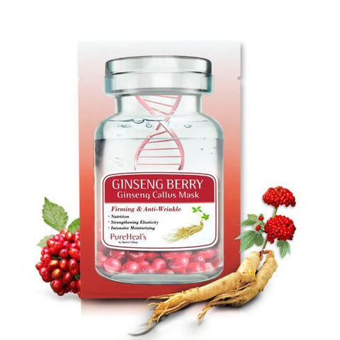 Ginseng Berry & Ginseng Callus Sheet Mask