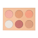 Kara KARA Beauty Professional Makeup Palette HL08 - 6 color Glowdust creates custom | Blue Scandal
