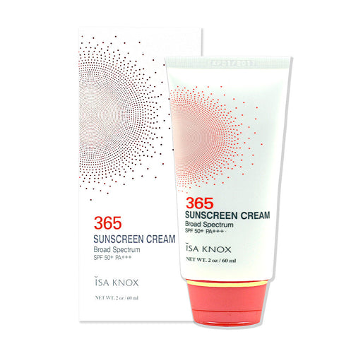 Isa Knox 365 Sun Cream (SPF50) | Blue Scandal
