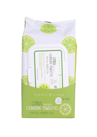 Cherry Chree Cleansing Towelettes | Blue Scandal