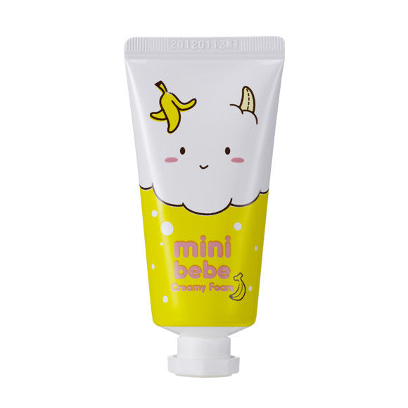 Mini Bebe Creamy Foam Banana