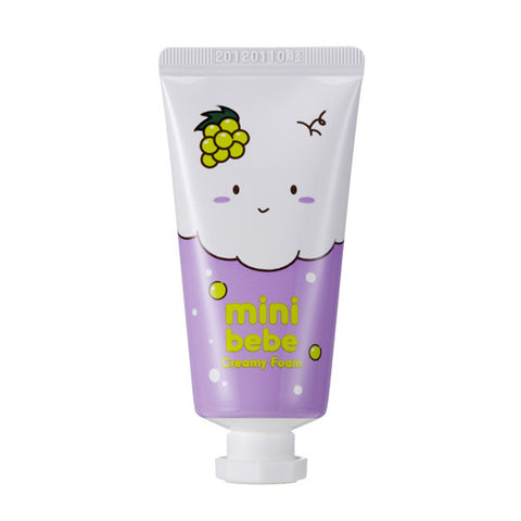 Mini Bebe Creamy Foam Green Grape