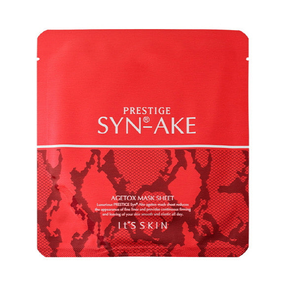 It's Skin Prestige Syn-ake Agetox Mask Sheet | Blue Scandal