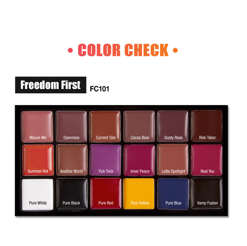 J.Cat Beauty Freedom Creator Lip Palette