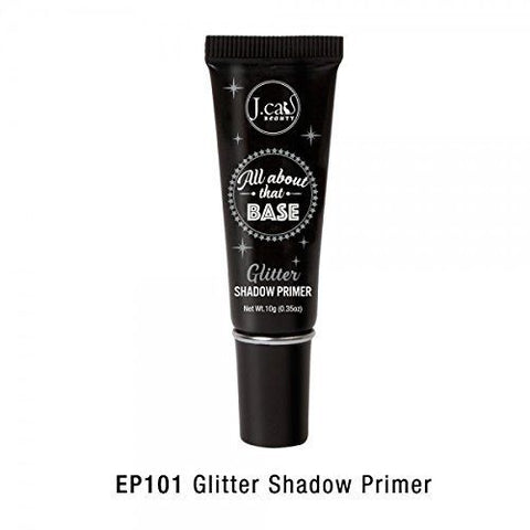 J.Cat Beauty All About that Base Eye Shadow Primer 0.35 oz GLITTER