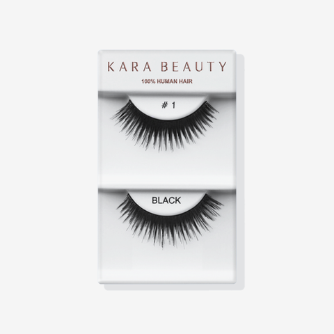 Kara 001 HUMAN HAIR  Eyelashes | Blue Scandal