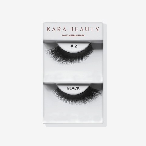 Kara 002 HUMAN HAIR  Eyelashes | Blue Scandal