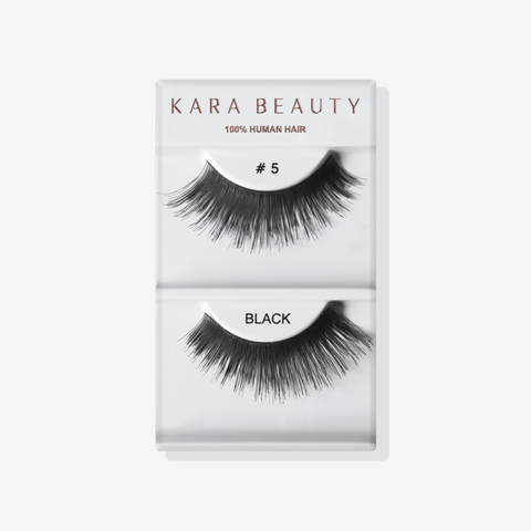 Kara 005 HUMAN HAIR  Eyelashes | Blue Scandal