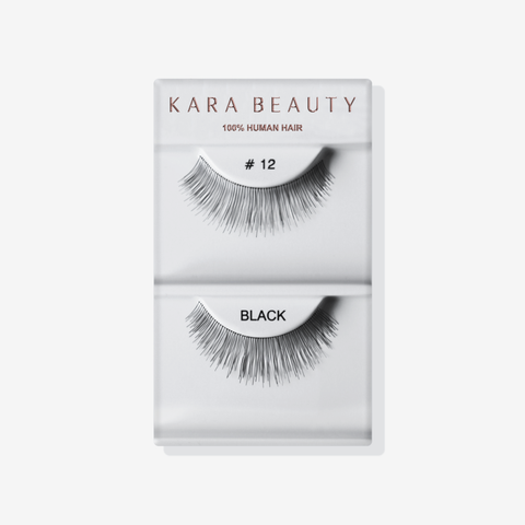 Kara 012 HUMAN HAIR  Eyelashes | Blue Scandal