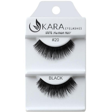 Kara 020 HUMAN HAIR  Eyelashes | Blue Scandal