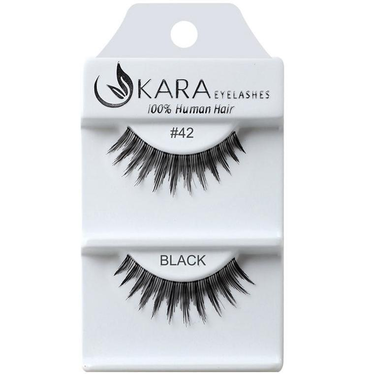Kara 042 HUMAN HAIR  Eyelashes | Blue Scandal
